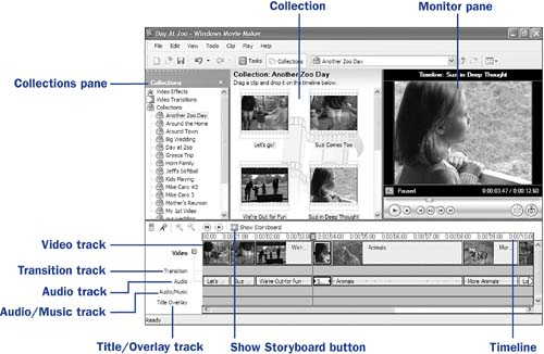 editing movies with movie maker digital video with