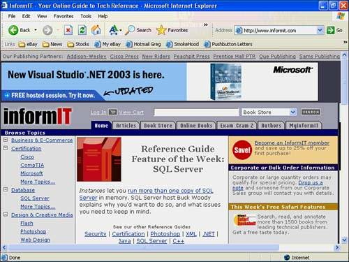 How Office Products Combine with the Web   Sams Teach