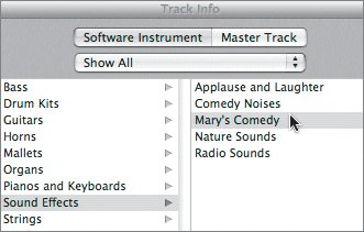 Working with Sound Effects | Apple Training Series: GarageBand 3