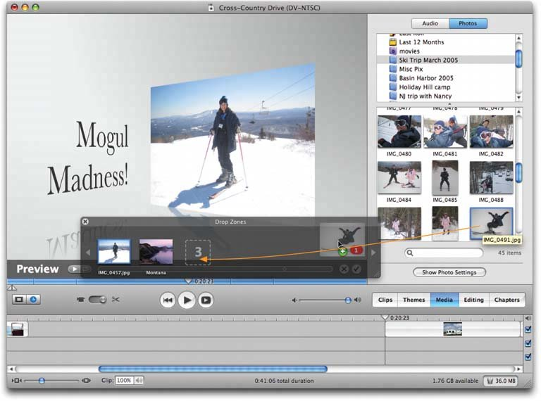 Section 5 11  Themes | iMovie 6 & iDVD: The Missing Manual