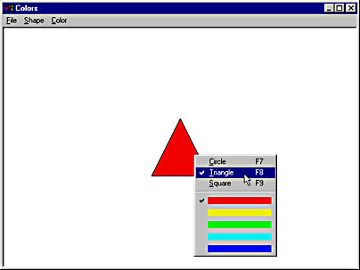 The Colors Application | Programming Windows with MFC
