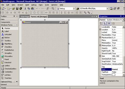 A Program Example Using OOP   Visual Basic  NET Primer Plus