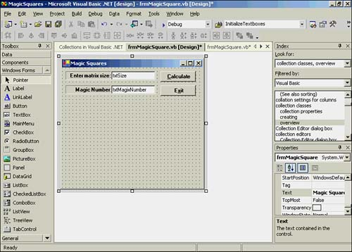 Collections | Visual Basic  NET Primer Plus