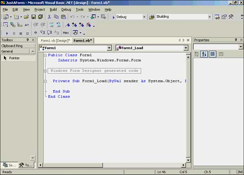 Chapter 20 visual basic net controls visual basic net for Window load event
