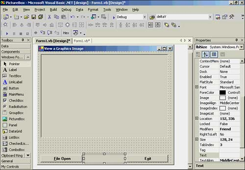 The Imageviewer Project | Visual Basic  NET Primer Plus