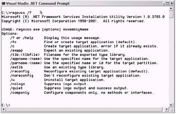 Introducing Your Serviced Component to COM | COBOL and Visual Basic