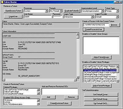 Programming User Context | Programming Server-Side