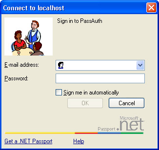 Passport Authentication   Security for Microsoft Visual