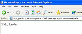 Cross-Site Scripting Attacks | Security for Microsoft Visual Basic  NET