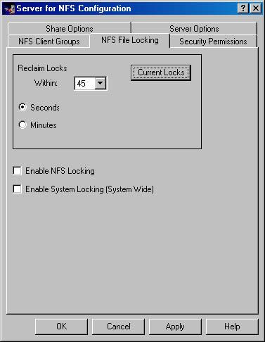 Services for UNIX Configuration   Microsoft Windows 2000 Server