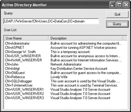 Understanding the System  DirectoryServices Namespace    NET