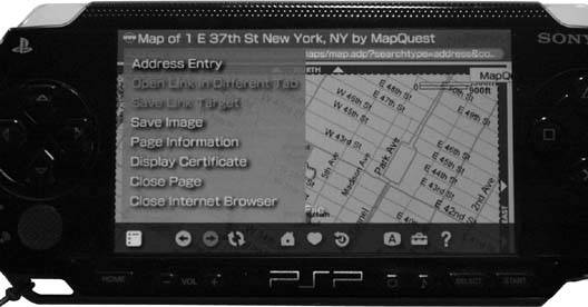 Hack34 View Maps | PSP Hacks: Tips & Tools for Your Mobile