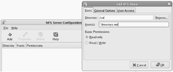 Setting Up an NFS File Server | Fedora 6 and Red Hat